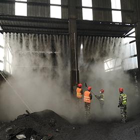 水泥厂的抑尘